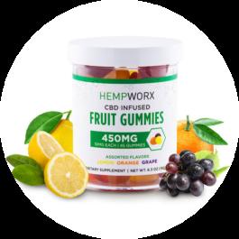 Hempworx CBD Infused Gummies
